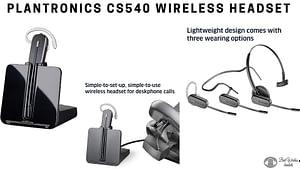 plantronics cs540 wireless headset