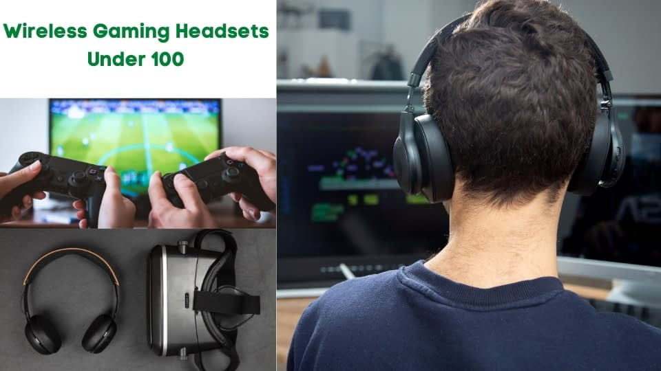 Wireless Gaming Headsets under 100
